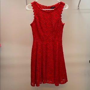 Jodi Kristopher junior size 1 red dress